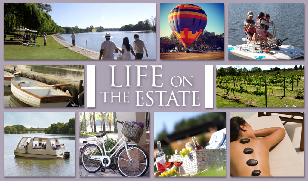 life on the estate button