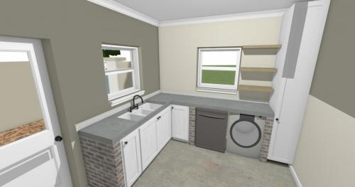 Scullery Laundry View 1